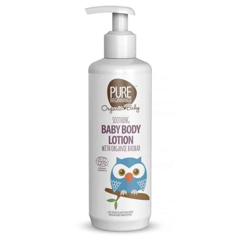Pure Beginnings Organic Baby, Łagodzący Balsam doCiała zOrganicznym Olejem zBaobabu, Matka Aptekarka